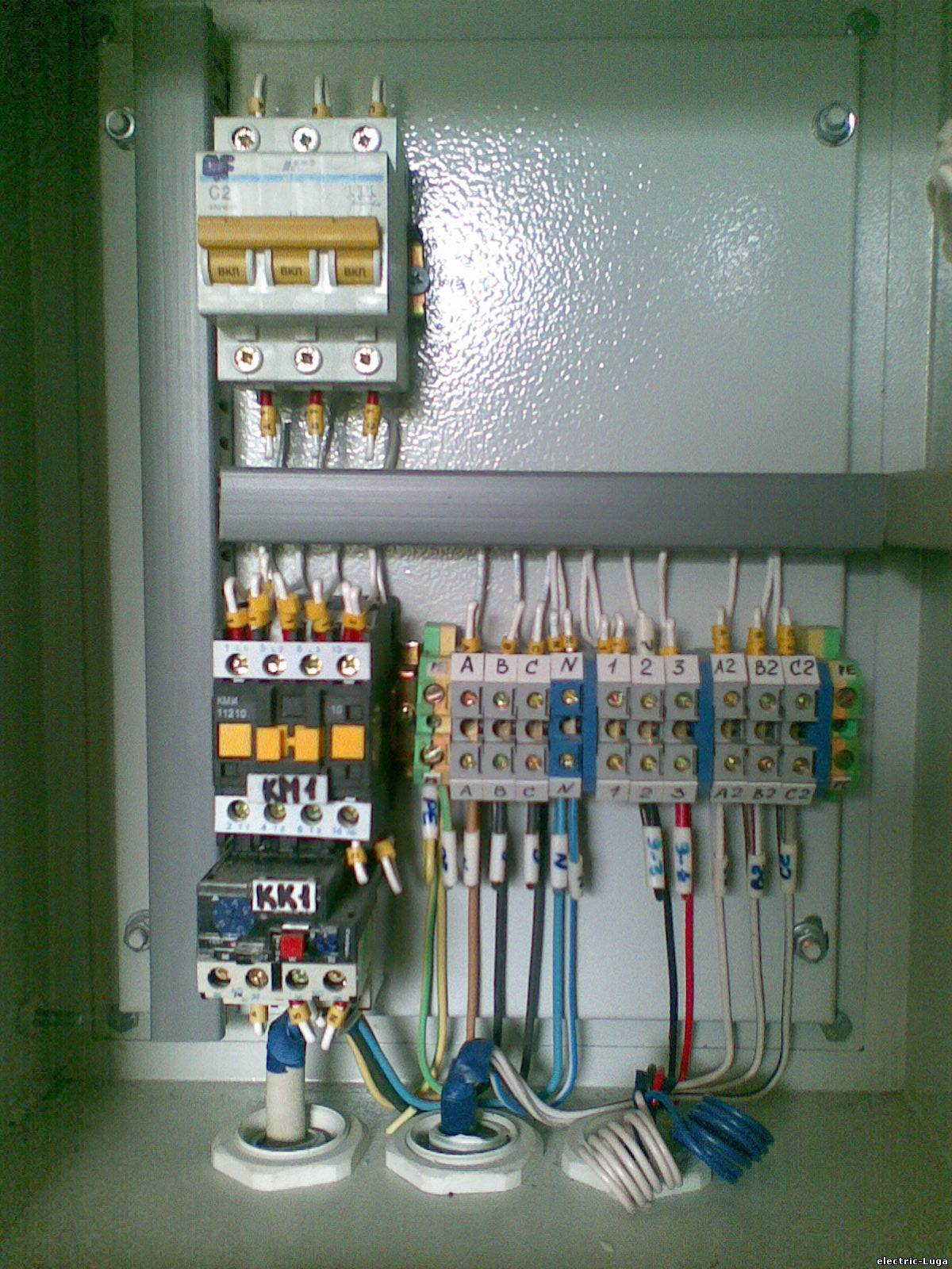 Фото и схемы электромонтаж